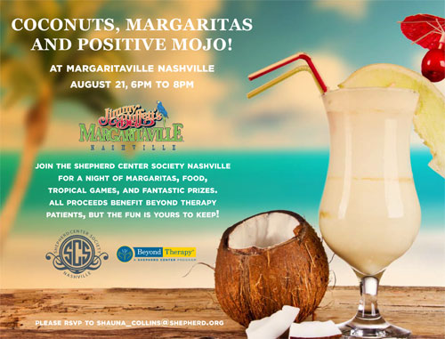 Coconuts, Margaritas and Positive Mojo!