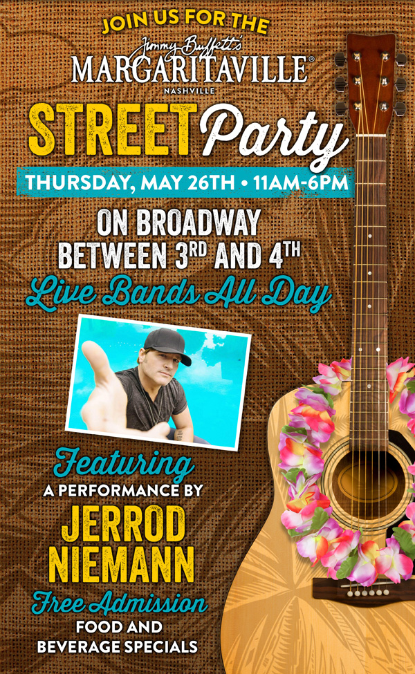 Margaritaville Street Party